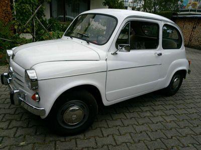 gebraucht Fiat 600 Bj. 82 restauriert Lizenzbau Zastav