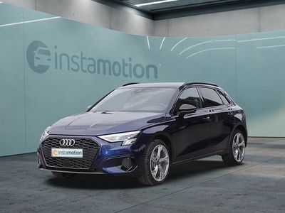 gebraucht Audi A3 Sportback A3 40 TFSI e advanced S line LED NAVI