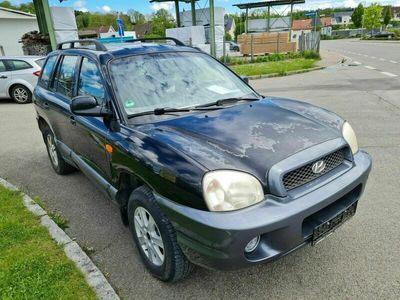 gebraucht Hyundai Santa Fe 2.4 GLS 4X4+KLIMA+EURO3 UND D4