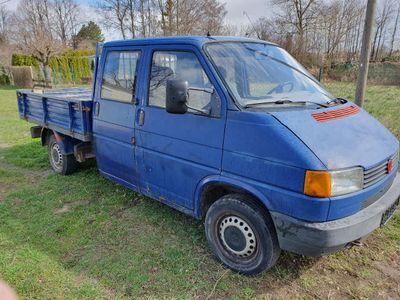käytetty VW T4 Pritsche Doppelkabine Pritsche Doppelkabine