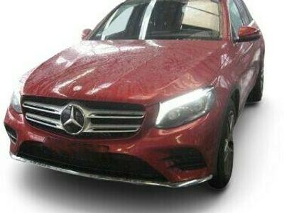 gebraucht Mercedes GLC250 GLC 250 4M AMG Line NAVI LED SITZBELάFTUNG EU6