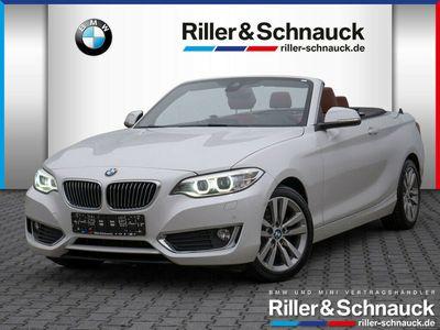 gebraucht BMW 225 d Luxury Line NAVI XENON LEDER KEYLESS