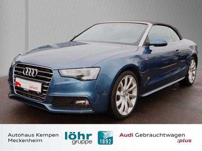 gebraucht Audi A5 Cabriolet 3.0 TDI quattro S troni S line Leder