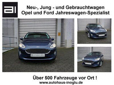 gebraucht Ford Fiesta 1.0 Ecoboost Titanium AT Navi R/Cam SHZ Euro 6d-Temp
