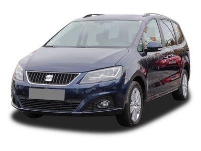 gebraucht Seat Alhambra 2.0 TDI Style Ecomotive 7-Sitzer Bi-Xenon Navi Kurvenlicht Rückfahrkam. Fernlichtass.