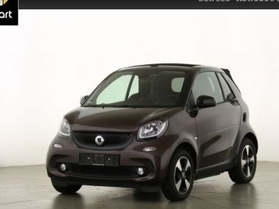 gebraucht Smart ForTwo Cabrio 66kW perfect DCT cool&Audio SHZ LED