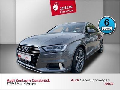 gebraucht Audi A3 Limousine 1.6 TDI S tronic sport LED AHK Virtua
