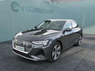 gebraucht Audi E-Tron eTronSportback 50 QUATTRO S-LINE * ADVANCED & TECHNOLOGY SELECTION * AHK * HEAD-UP-DISPLAY * MATRIX-LED * PANORAMA