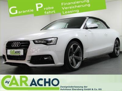 gebraucht Audi A5 Cabriolet 1.8 TFSI Xen Nav Sportsitze music
