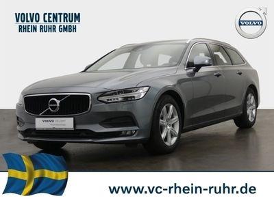 gebraucht Volvo V90 Kombi Momentum D4 Leder LED Navi Kurvenlicht Parklenkass. Rückfahrkam.
