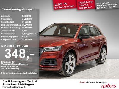 gebraucht Audi SQ5 3.0 TFSI qu LED ACC Navi B&O Pano el.Sitz