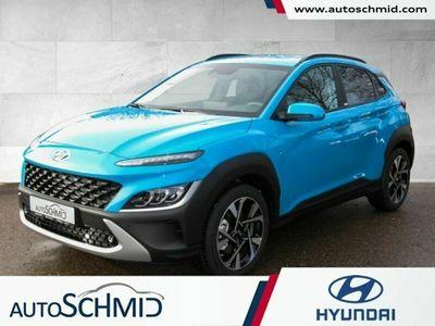 gebraucht Hyundai Kona FL MJ21 1.0 T-GDI Intro Navi LED Bluetooth