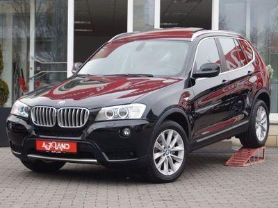 gebraucht BMW X3 xDrive 30d Autom. X-Line Xenon Navi PDC Sitzh