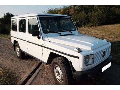gebraucht Mercedes G230 (GE) Weiß 4x4 LPG-Benzin