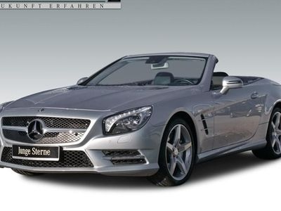 używany Mercedes SL500 AMG+B&O-SOUND+ACTIVE-BODY-CONT+ILS+COMAND