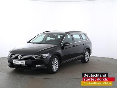gebraucht VW Passat Variant Comfortline 2.0 TDI BMT 4MOTION schwarz