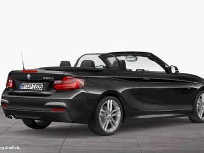 gebraucht BMW 220 d Cabrio M Sport Sportpaket Navi Xenon HiFi