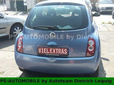 gebraucht Nissan Micra 1.2 acenta 2x Vorbesitzer-Klima
