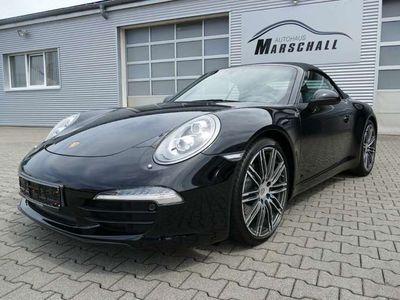 """gebraucht Porsche 911 Carrera Cabriolet 991 Black Edition PASM Bose 20"""""""