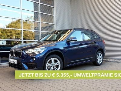 gebraucht BMW X1 sDrive18d Sport Line,Navi,LED,DAB,AHK,PDCv+h