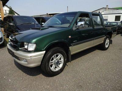 gebraucht Opel Campo ISUZU 4X4 Limited Klima 1-Hand