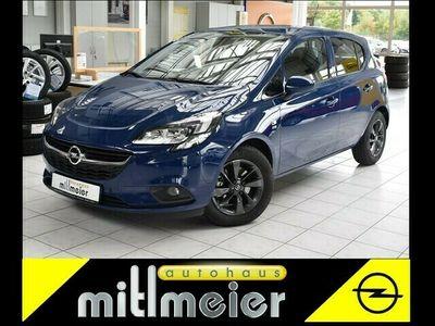 gebraucht Opel Corsa E 1.4 5T 120Jahre SHZ PDC ALU schwarz