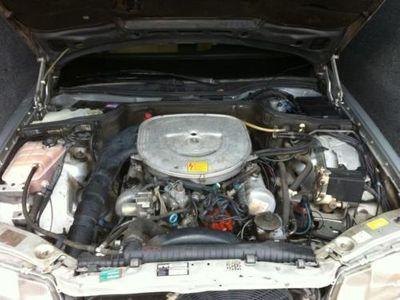 gebraucht Mercedes 380 W126SEL Tüv neu H-Zulassung ZKD defekt Sacco