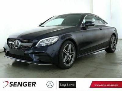 gebraucht Mercedes C200 Coupé AMG+Spur-P.+LED+AHK+Kamera+Navi+PDC