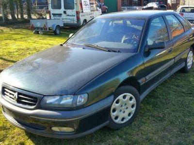 gebraucht Renault Safrane Limosine 1998 blau TÜV Februar 2020