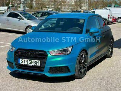 gebraucht Audi S1 2.0 TFSI quattro LED MTM ABGAS 20MM H&R BOSE als Kleinwagen in Oberschleissheim