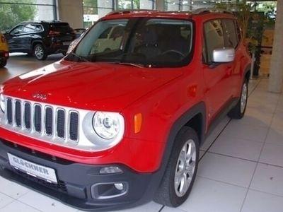 gebraucht Jeep Renegade Limited 2.0l Mjet 4WD/Euro6/Xenon/Leder