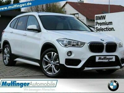 "gebraucht BMW X1 xDrive18d Sport Leder Navi P-Dach Park.AHK18"" LED"
