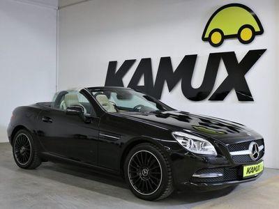 gebraucht Mercedes SLK200 7G-Tronic +Bi-Xenon +Navi +Leder +AMG Felgen +Airscarf