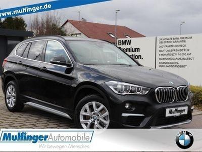 gebraucht BMW X1 xDrive 20iA.Leder Kamera DrivAss.LED Navi AHK