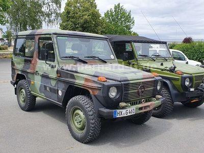 """gebraucht Mercedes G290 290GD""""Greenliner"""" kurzer Militärwagen! top!!"""