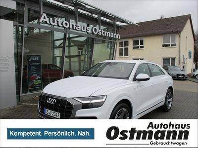 used Audi Q8 50 TDI quattro tiptronic S-line selection Standhzg Luft KLIMA LED NAVI LEDER ALU