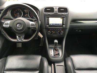 gebraucht VW Golf VI GTI VI 2.0 TSI BMT DSG | XENON NAVI SHZ schwarz