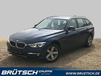 gebraucht BMW 318 d Touring Luxury Line KLIMA / LEDER / NAVI / LED