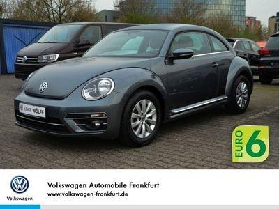 gebraucht VW Beetle 2.0 TDI DSG Design GRA AC SHZ PDC MFAPlus
