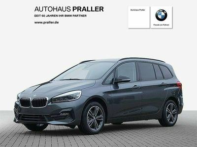 gebraucht BMW 218 Gran Tourer i SportLine Automatik Navi LED DAB