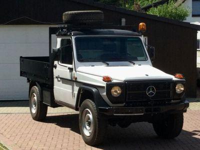 gebraucht Mercedes G230 (GE) Klasse Single Cab LKW Kipper 3120mm