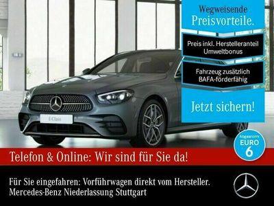 gebraucht Mercedes E300 AMG WideScreen 360° Pano Multibeam