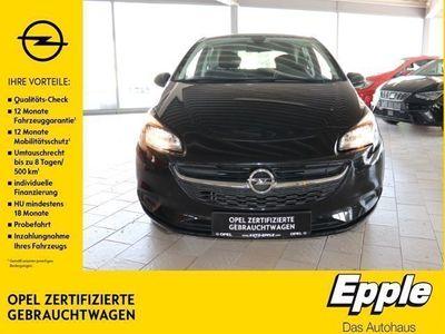 gebraucht Opel Corsa E 1.4 Edition Beheizb. Frontsch. Multif.Lenkrad NR RDC Klima SHZ Temp PDC CD AUX