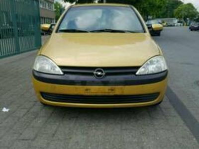 gebraucht Opel Corsa C mit neu TÜV