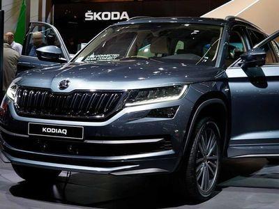 gebraucht Skoda Kodiaq Sportline 2,0 TDI 5-Sitzer SCR 4X4 190 PS, DSG