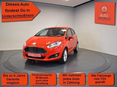 gebraucht Ford Fiesta 1.0 EcoBoost Titanium Navi, Sitzheizung,