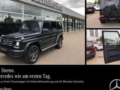 gebraucht Mercedes G500 Sport/SHD/Exklusiv/Sport-Abgas/AHK/Standh.