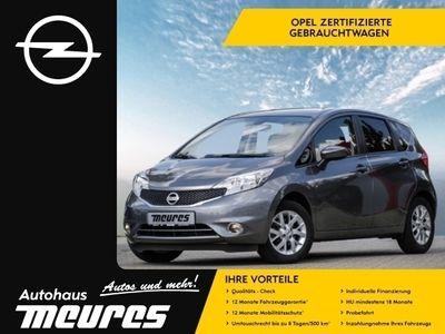 gebraucht Nissan Note Acenta PLUS 1.2 NAVI KLIMAAUTO PDC TEMPOMAT -