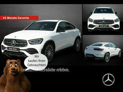 gebraucht Mercedes 200 GLC4M Coupé AMG-LINE/AHK/LED/NIGHT/MBUX/KAM Kamera