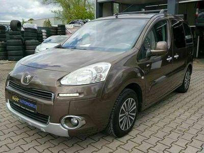 gebraucht Peugeot Partner Tepee Style /Klima/AHK/2 Hand/HU+AU neu